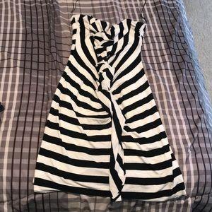 Striped dress size medium